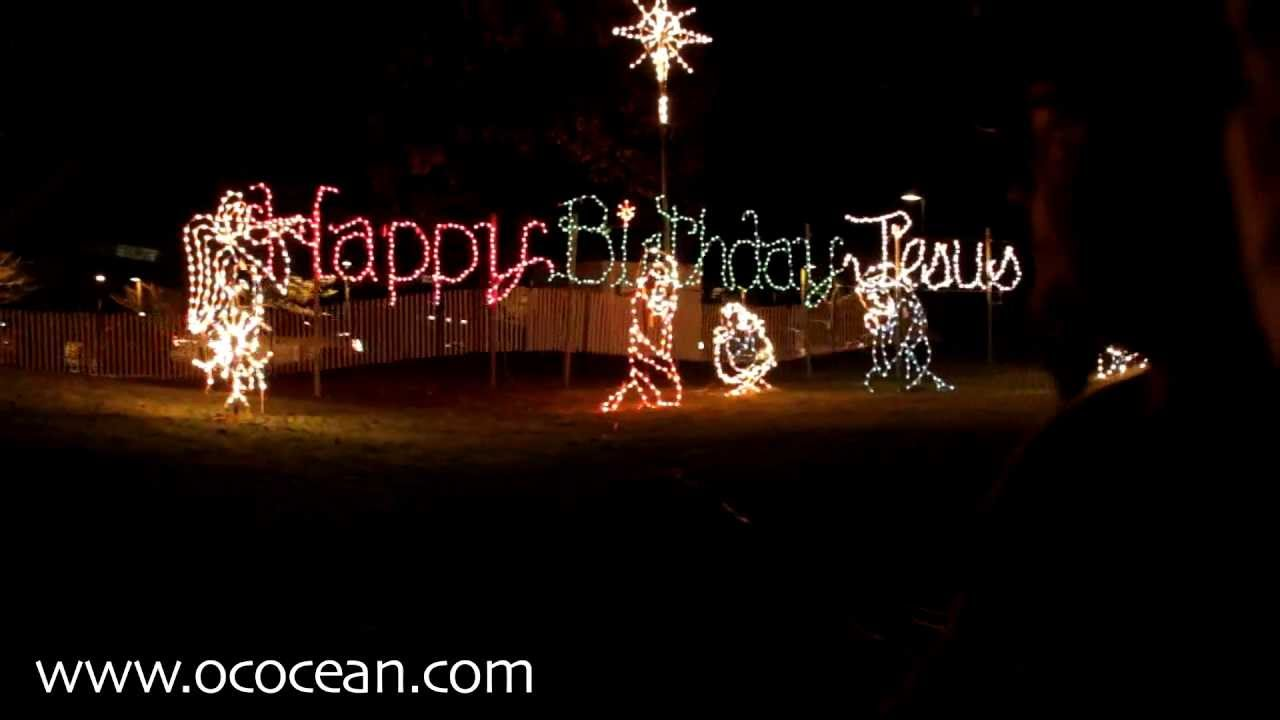 Winterfest Of Lights - Town Of Ocean City 2011 - YouTube
