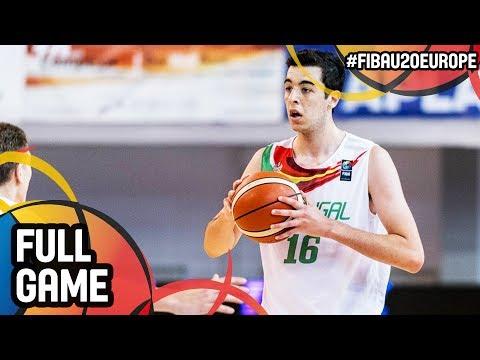 Kosovo v Portugal - Full Game - FIBA U20 European Championship 2017 - DIV B