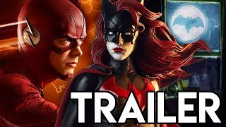 Batwoman Crossover Teaser Trailer - The Flash Season 5 Supergirl Comic Con Preview