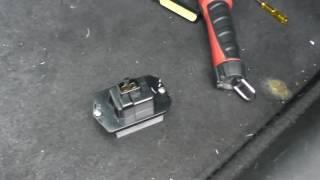 Ремонт автокондиционера 2004 Honda Accord AC, Heating Bl
