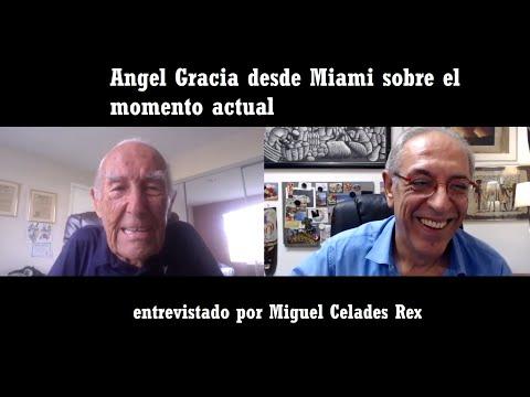 Angel Gracia desde Miami con Miguel Celades