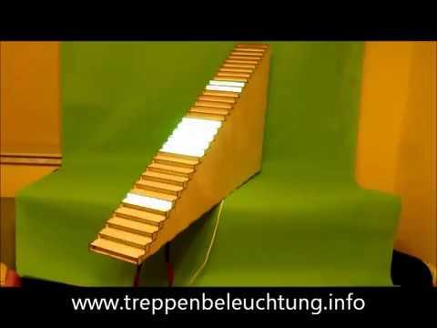 Sensorgesteuerte Treppenbeleuchtung Fur Beleuchtung Treppe Rgb W V5 32 Youtube