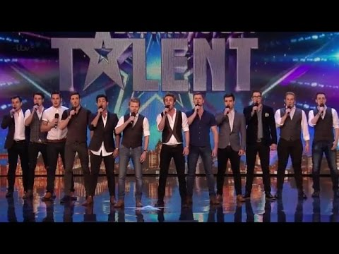 Britain's Got Talent 2015 S09E06 The Kingdom Tenors Perform an Awesome Version of You Raise Me Up