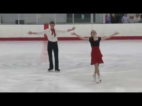 Elizabeth Addas & Jonathan Schultz  Chesapeake Open 2015, Short Dance