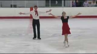 Elizabeth Addas & Jonathan Schultz - Chesapeake Open 2015, Short Dance