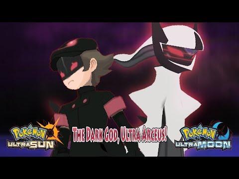 Pokemon Ultra Sun and Ultra Moon: Ash Vs Dark Hero (Ultra Arceus)