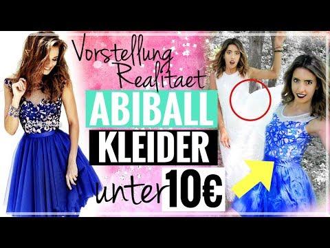 (ABI-) BALLKLEIDER UNTER 10€ Im LIVE TEST! Ebay Asia Shop Mode | Coole Abschlussballkleider?!