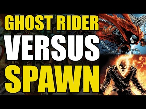 Ghost Rider vs Spawn (Marvel vs Image)