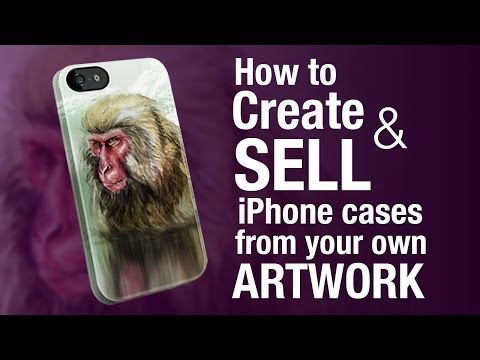 Creative Freelance Income | How to turn your artwork into iPhone cases that you can sell