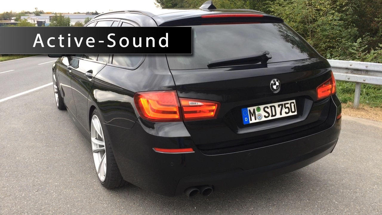 active sound 5er bmw 520d f11 made by insideperformance
