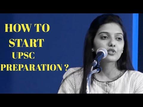 How To Start Preparation for Upsc  By Srushti Jayant Deshmukh Air -5 CSE