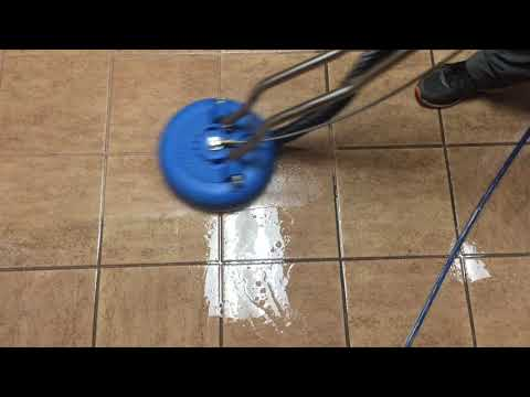 Commercial tile cleaning. Amazing results | Greater Richmond VA