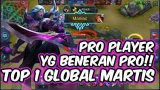 Pro Player Martis yg Beneran Pro!! Martis Item Build by TOP 1 GLOBAL