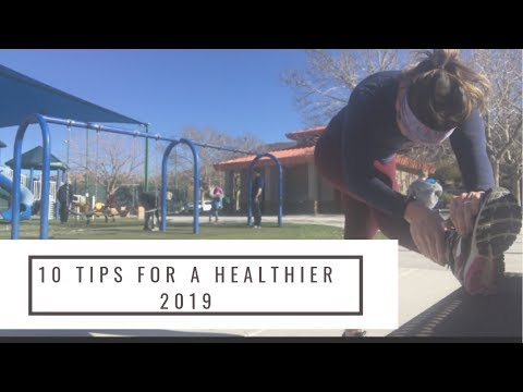 10 EASY TIPS TO BE HEALTHIER IN 2019||BUSY MOM EDITION