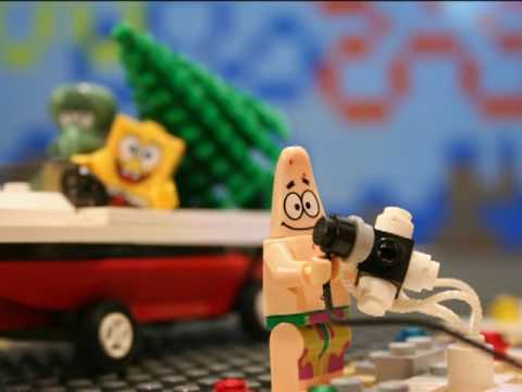 Lego Spongebob - Don't Be A Jerk It's Christmas (director's cut)