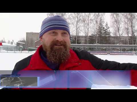 Житель Авсюнина  сам готовит лыжную трассу  для  односельчан