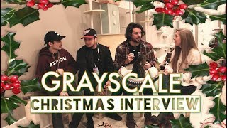 ❆ christmas interview ⇢ grayscale • 121717 • catsbury park