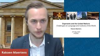 Esperanto and the United Nations: Challenges on Language and Cultures of the World - Rakoen Maertens