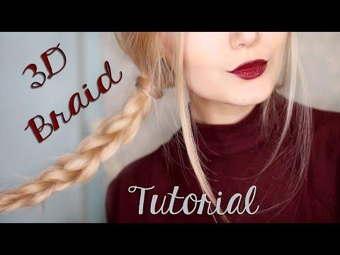 Easy 3D Braid Hair Tutorial For School ||Tumblr Inspired