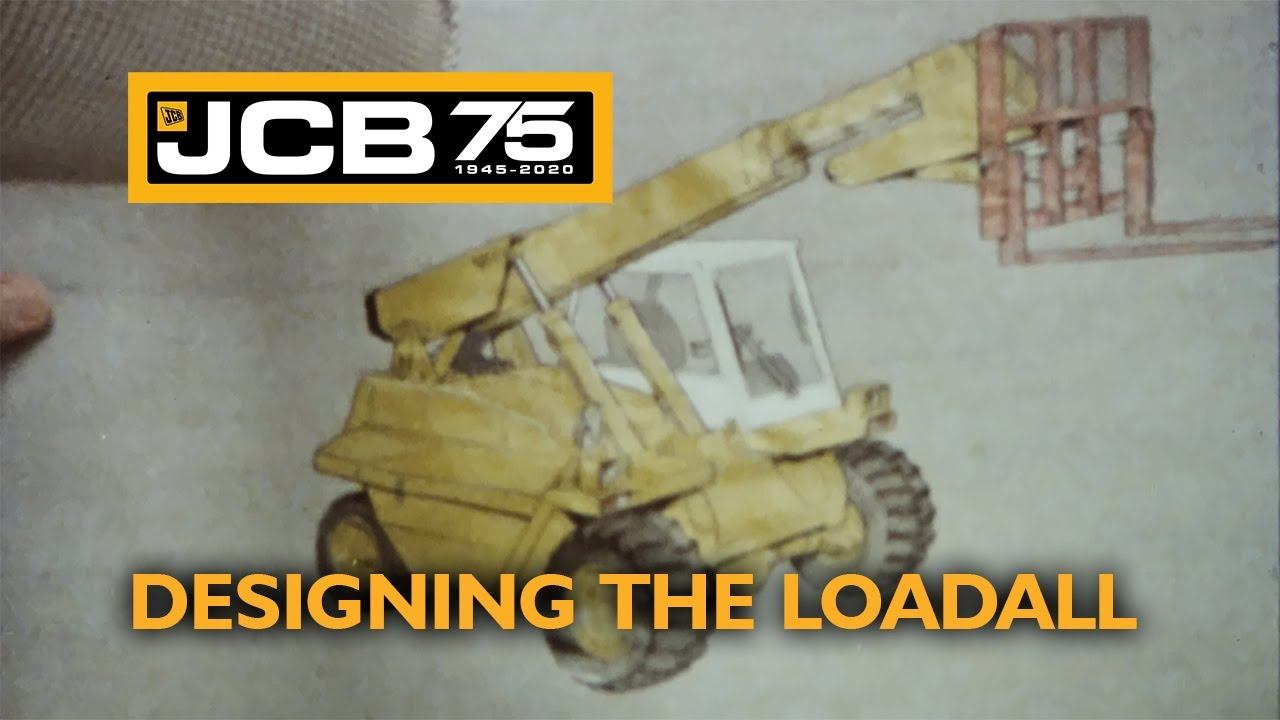 Designing the JCB Loadall - Historic footage of the world's most popular telehandler