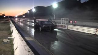 Barons drag strip 1/25/14 Mustang ET 5.29