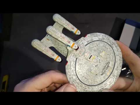 Star Trek Official Starship Collection, Future U.S.S.Enterprise NCC-1701-D Model, special Edition