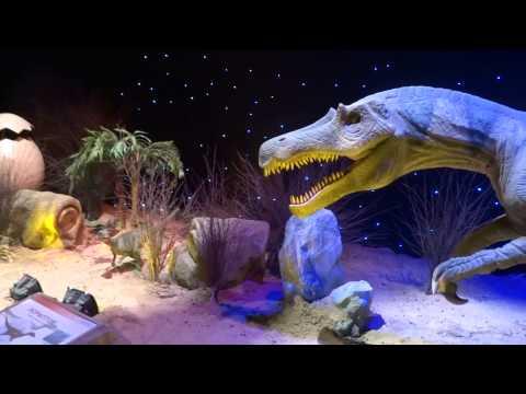 Город Динозавров на ВДНХ