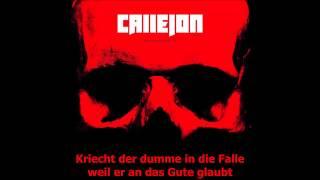 Callejon - Schreien ist Gold [HQ] [Lyrics]