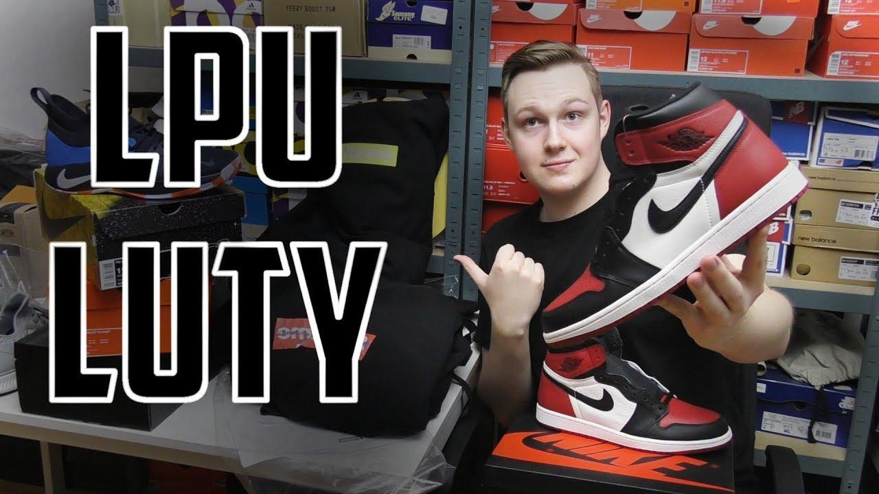 Zakupy Streetwear w Lutym! Supreme, CDG, Palace, Jordan i Nike! Haul  zakupowy typu MODA ULICZNA