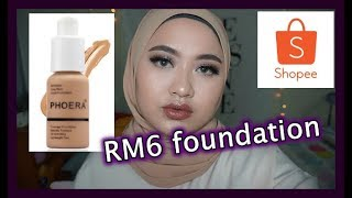 Phoera foundation review | Shopee Makeup Malaysia