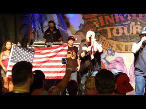 "Moonshine Bandits ""Pass Me The Ammo"" LIVE at Ink Life Tour Longview TX"