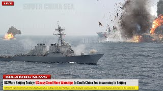 US Warn Beijing Today (Oct 27): US navy Send More Warships to South China Sea in warning to Beijing
