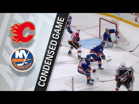 Calgary Flames vs New York Islanders – Feb. 11, 2018 | Game Highlights | NHL 2017/18. Обзор