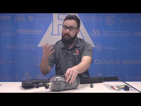 Benjamin Bulldog - Unboxing and filling your rifle