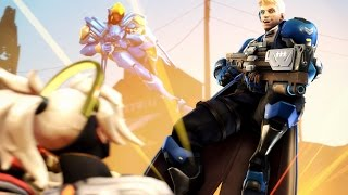 Overwatch: The Flying Soldier 76