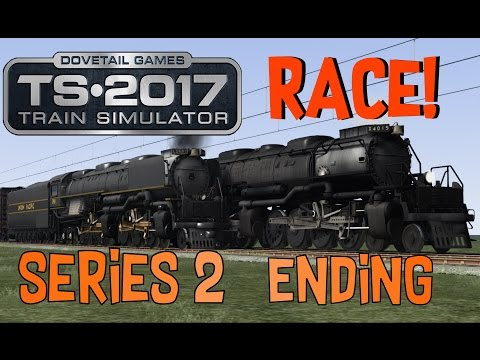 Train Simulator 2017 - Big Boy V.S. Challenger (Series 2 Ending!)