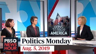 Tamara Keith and Amy Walter on Trump's reaction to El Paso and Dayton massacres