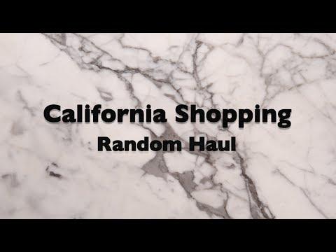 California Shopping - Random Haul