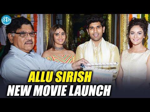 Allu Sirish New Movie Opening || Surabhi || Seerath Kapoor || Avasarala Srinivas || Anand