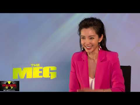 Exclusive  with LI BINGBING About THE MEG!
