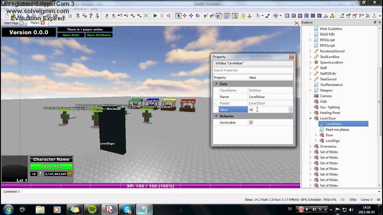roblox how to make a vip door