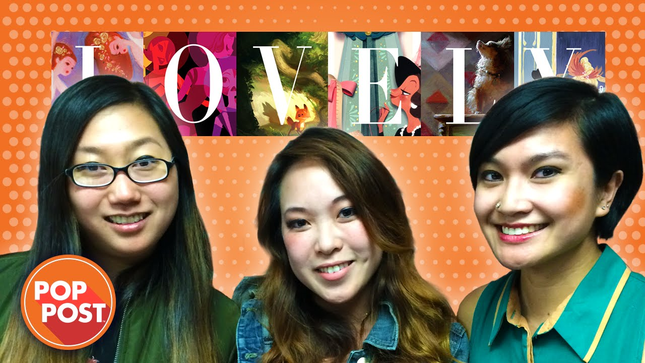 Pop Art Lovely Ladies Of Disney Animation Interview With Helen