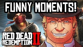 Red Dead Redemption 2 - FUNNY MOMENTS & FAILS FUNTAGE!
