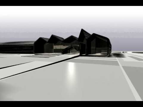 Glasgow Museum of Transport Riverside Project © Zaha Hadid Architects