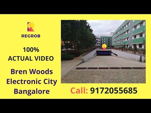 Bren Woods Electronic City Bangalore Actual Video | Call 8688821292