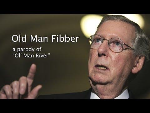 Old Man Fibber - a parody of