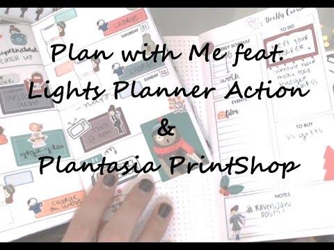 PWM feat. Lights Planner Action & Plantasia PrintShop