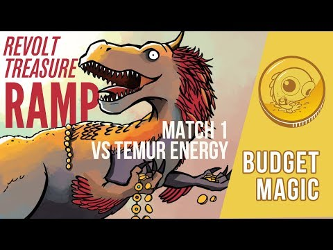Budget Magic: Revolt Treasure Ramp vs Temur Energy (Match 1)