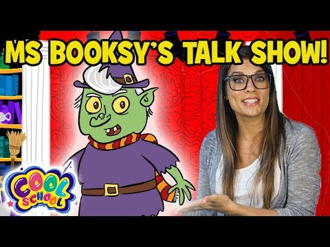 Ms Booksys Talk Show! ????????Interviewing the Wicked Witch????????Ms Booksy Cartoon | Cartoons for