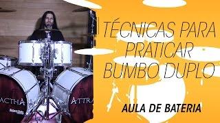 Aprenda a tocar bateria: técnicas para praticar Bumbo/Pedal Duplo